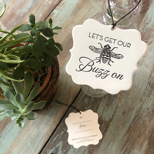 Bee Wine Tags