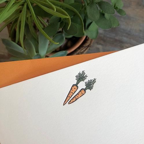 Carrot Notecard