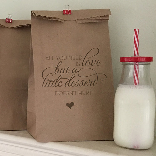Love Is All You Need Lunch Bags