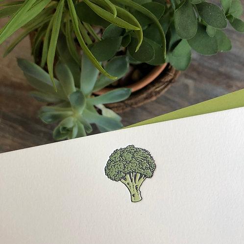 Broccoli Notecard