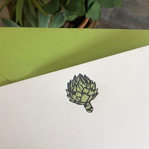 Artichoke Notecard