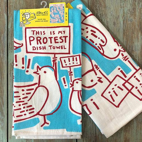 Protest Dish Towel