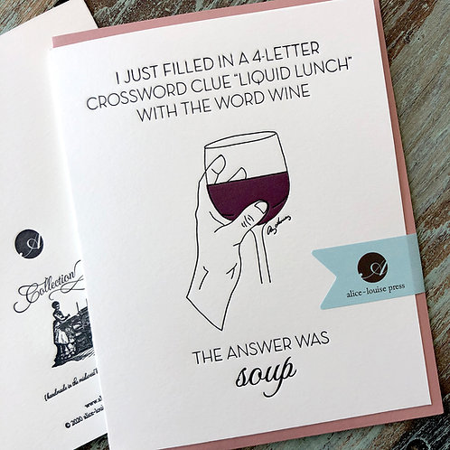 Wine Soup Card
