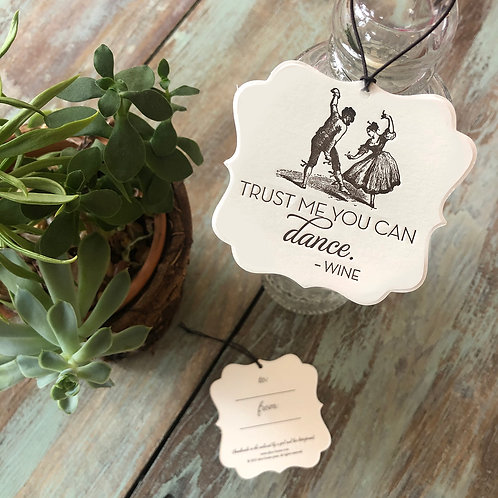 Dance Wine Tags