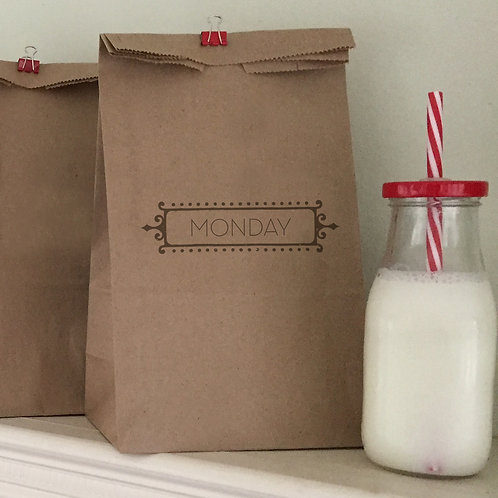 Monday-Friday 1 Lunch Bags