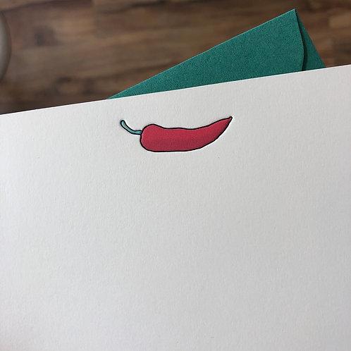 Pepper Notecard