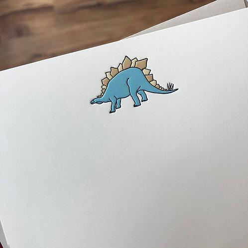 Stegosaurus Notecard