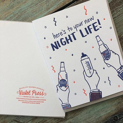 New Night Life Card