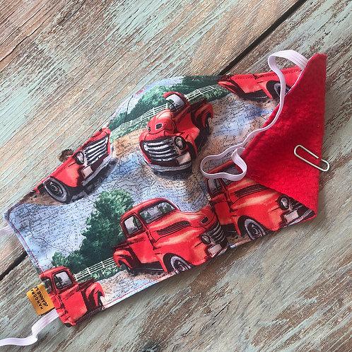 Men's Mask Truck/Red 3