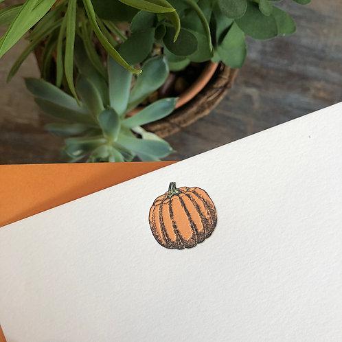 Pumpkin Notecard