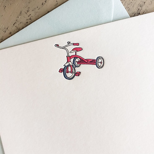 Tricycle Notecard