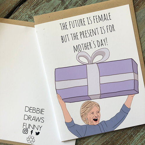 Hillary Mother's Day Card