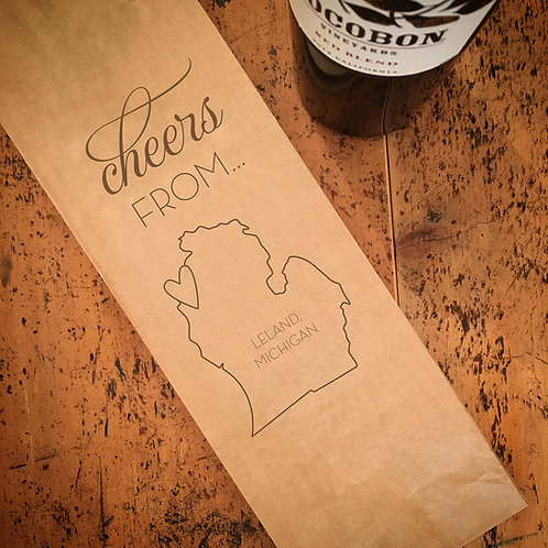 Local Cheers From...Wine Bag
