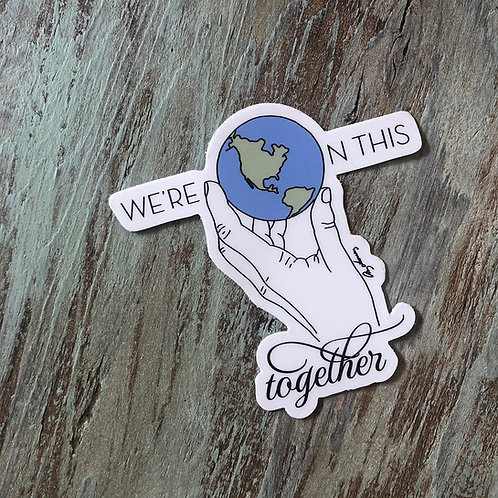 On This Together Sticker