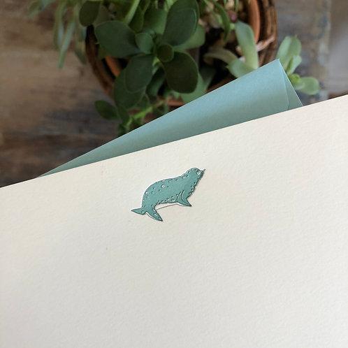 Seal Notecard