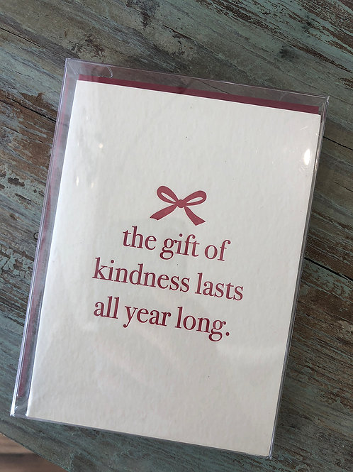 Gift of Kindness Boxed Cards