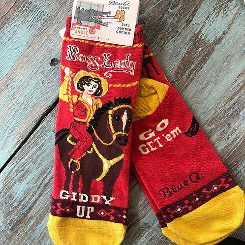 Boss Lady Women's Ankle Socks