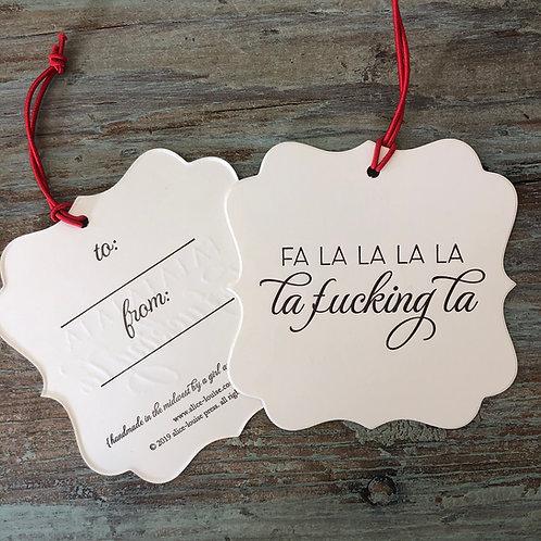 Fa La La Gift Tags