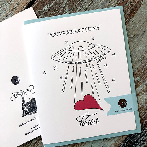 Heart Abduction Card
