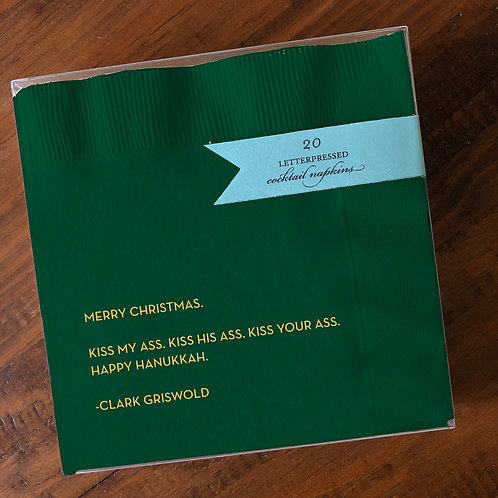 Griswold Green Cocktail Napkins