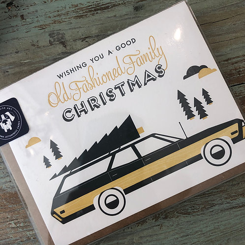 Old Fashioned Family Boxed Cards