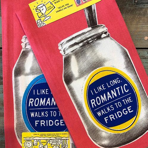Romantic Walks To Fridge Dish Towel