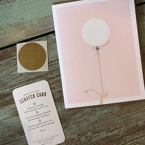 Pink Balloon Scratch-Off