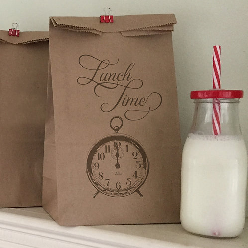 Lunch Time Lunch Bags
