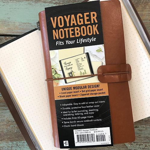 Nutmeg Voyager Notebook