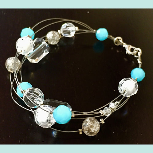 Floating Bead Bracelet