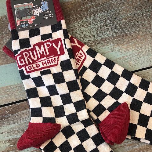 Grumpy Old Man Men's Crew Socks