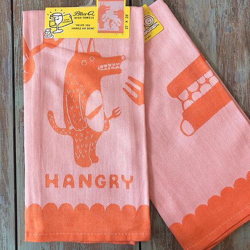 Hangry Woven Dish Towel