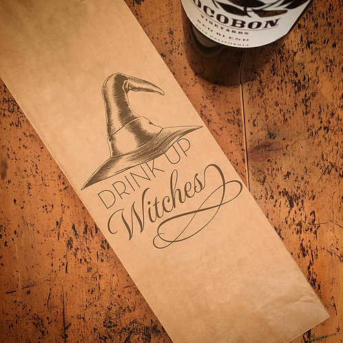 Witches Wine Bag