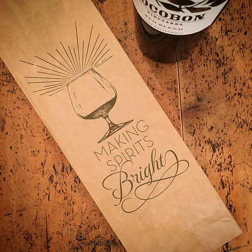 Making Spirits Bright, Wine Bag