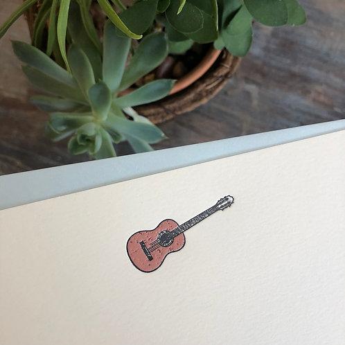 Guitar Notecard