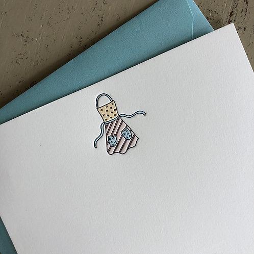 Apron Notecard