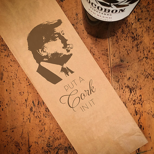 Put A Cork In It, Wine Bag
