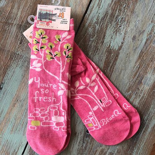 Your'e So Fresh Women's Ankle Socks