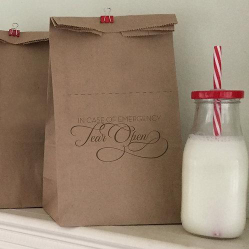 Tear Open Lunch Bags