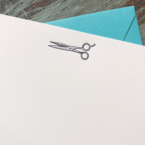 Shears Notecard