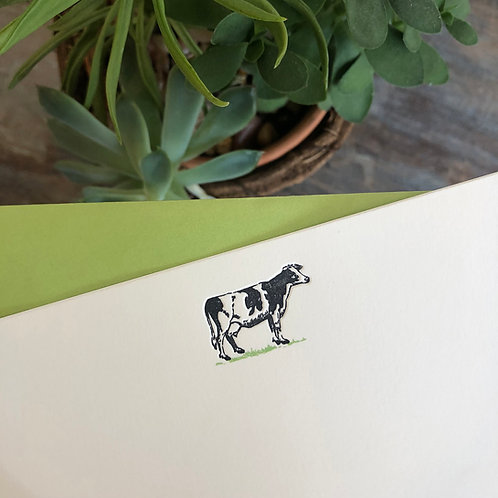 Cow Notecard