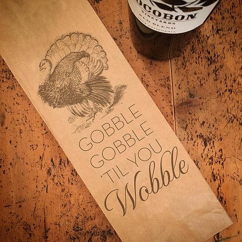 Gobble Gobble, Wine Bag