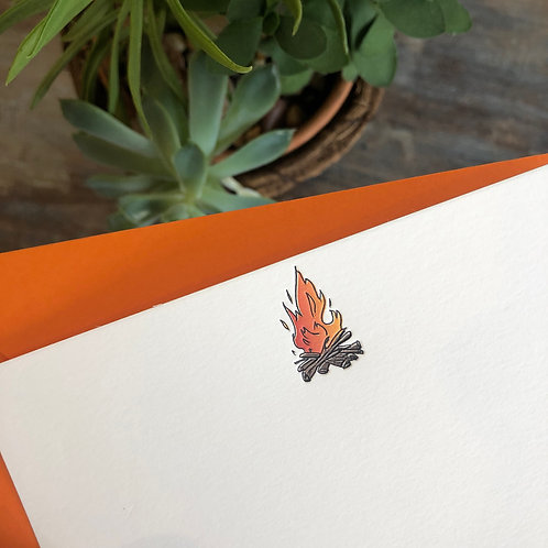 Campfire Notecard