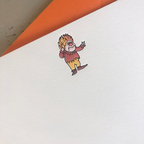 Heat Miser Notecard