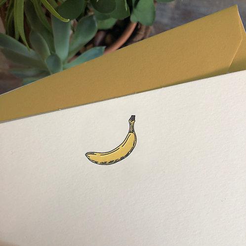 Banana Notecard