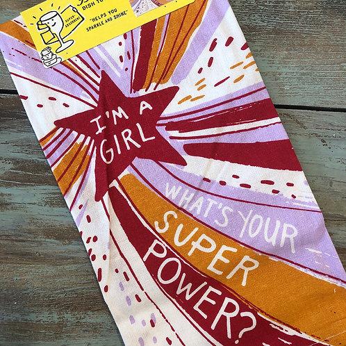 Super Power Dish Towel