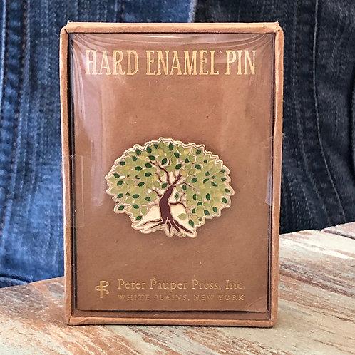 Tree of Life Enamel Pin