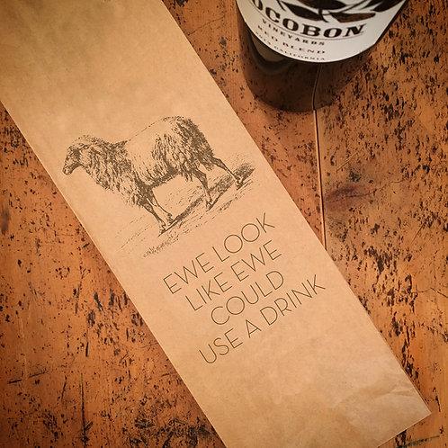 Ewe, Wine Bag