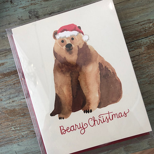 Beary Christmas Boxed Cards
