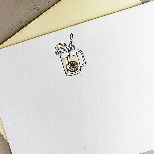 Lemonade Notecard